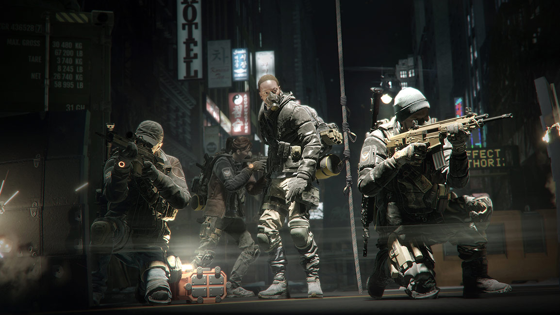 Tom Clancy's The Division — Сбор отряда