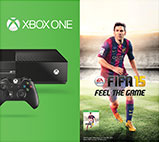 Xbox One FIFA 15 Bundle box shot