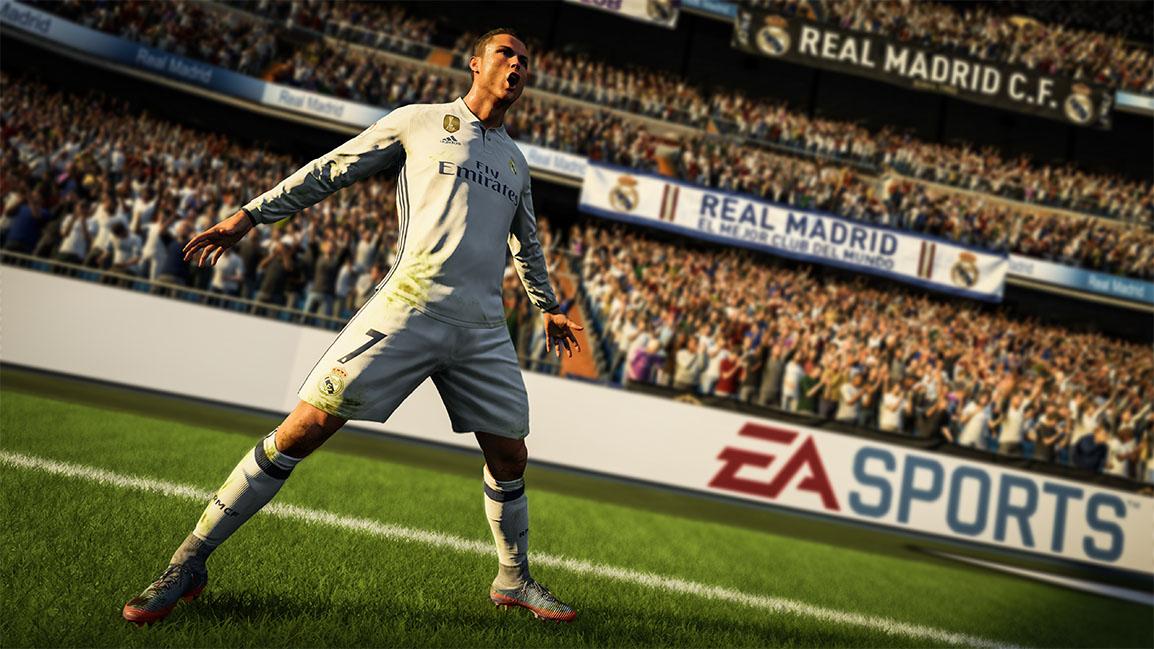 Cristiano Ronaldo edestä