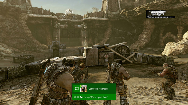 Gears of War in-game DVR