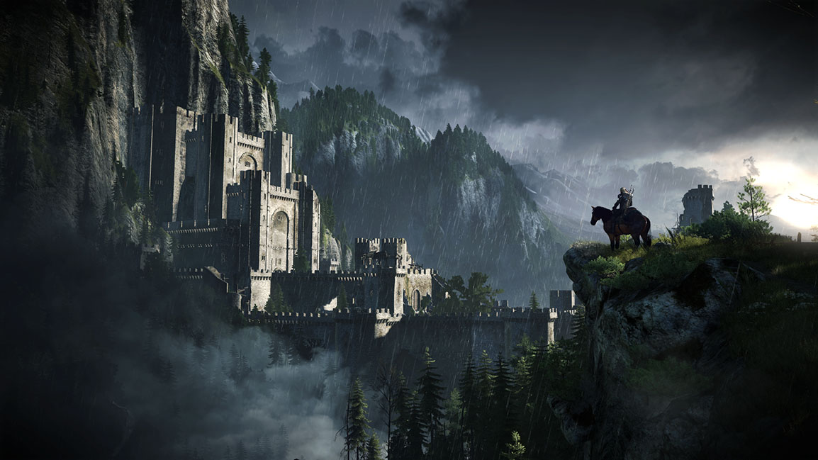 The Witcher 3: Wild Hunt castle