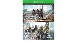 Assassins Creed Unity and Assassins Creed IV Black Flag Xbox One game downloads small