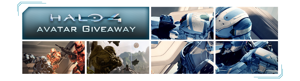 Halo 4 Avatar Giveaway