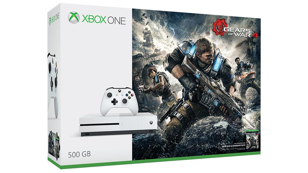 Gears of War 4 de 500GB para Xbox One S
