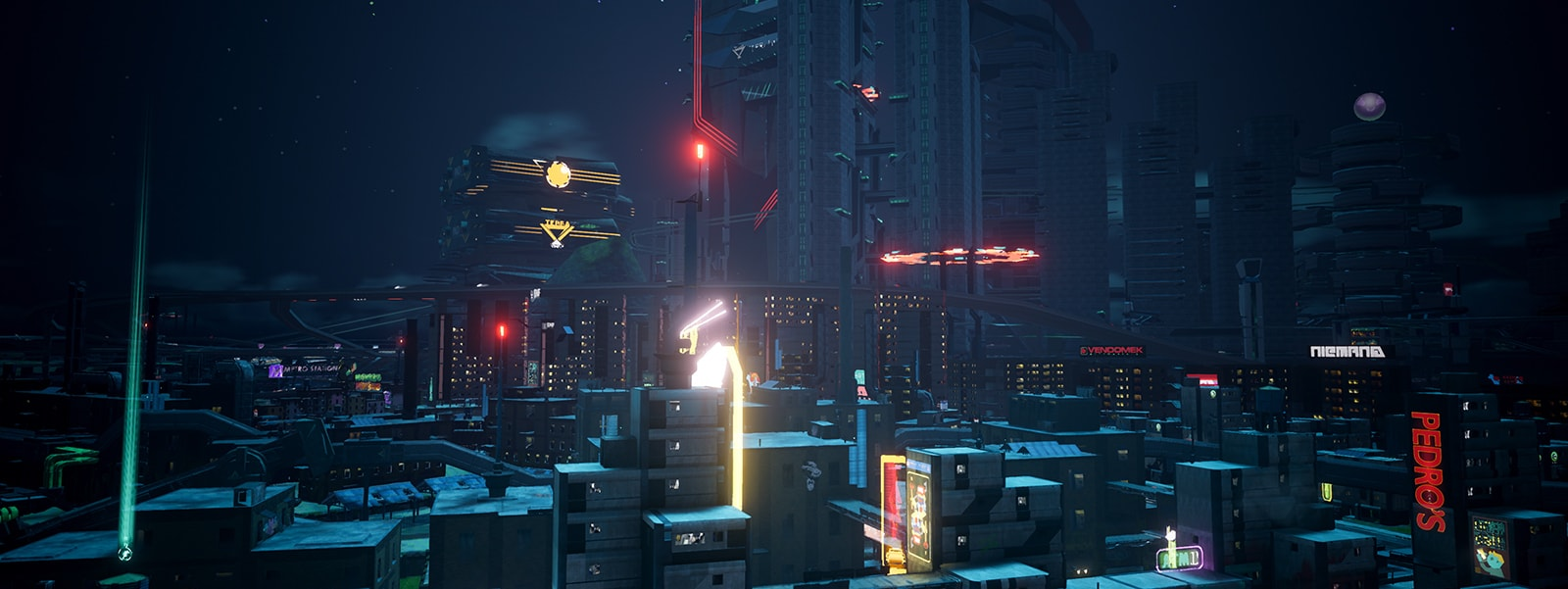 Crackdown 3 screenshot without HDR