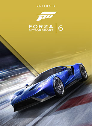 Forza Motorsport 6 Ultimate Edition box shot