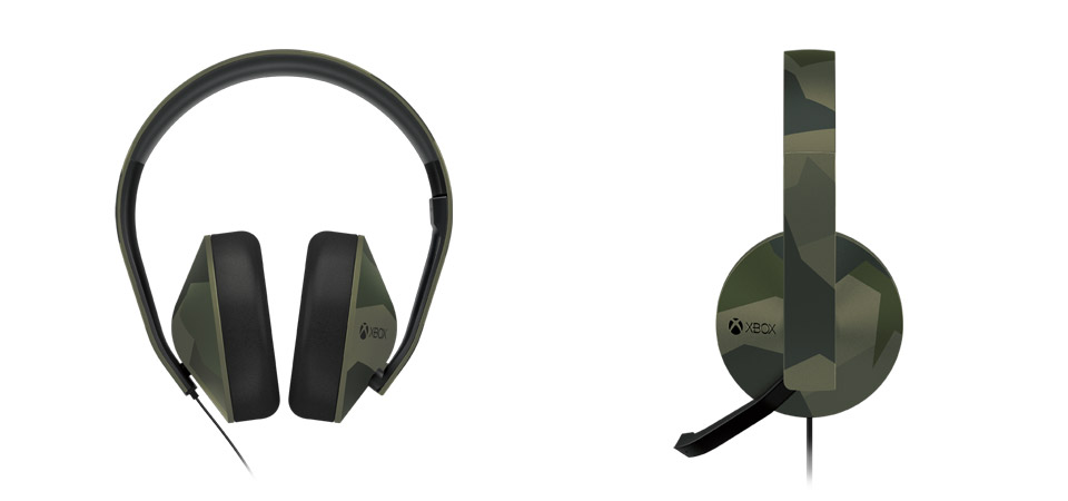 Xbox One Special Edition Camouflage Stereo Headset hero