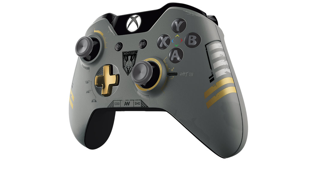 Xbox One Call of Duty Controller von links