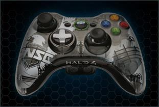 Control inalámbrico edición limitada de Halo 4