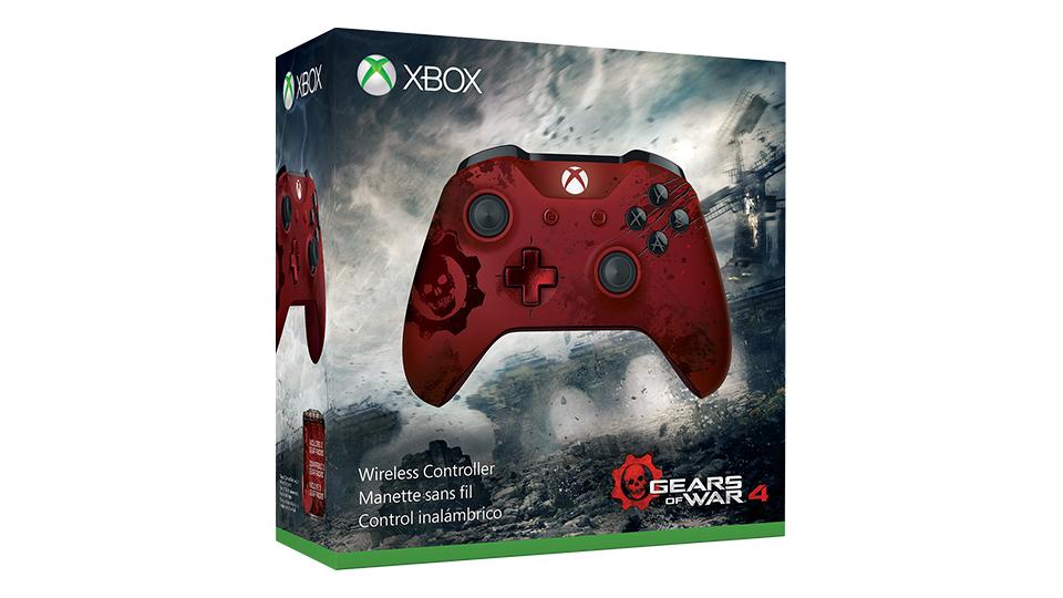 Imagem da caixa do controle Crimson Omen