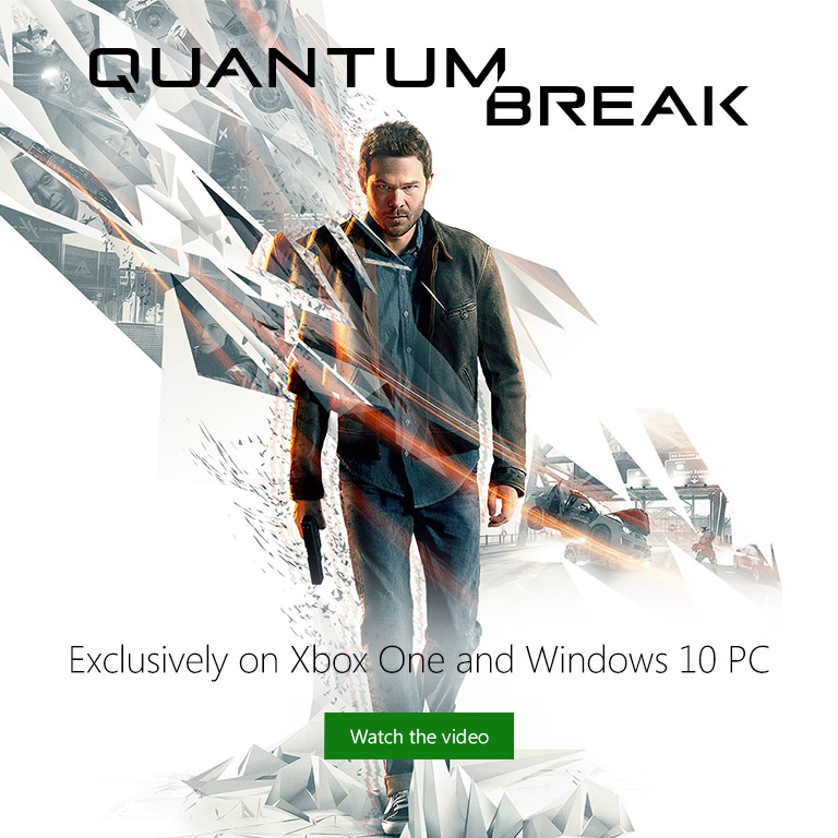 Quantum Break on Xbox One