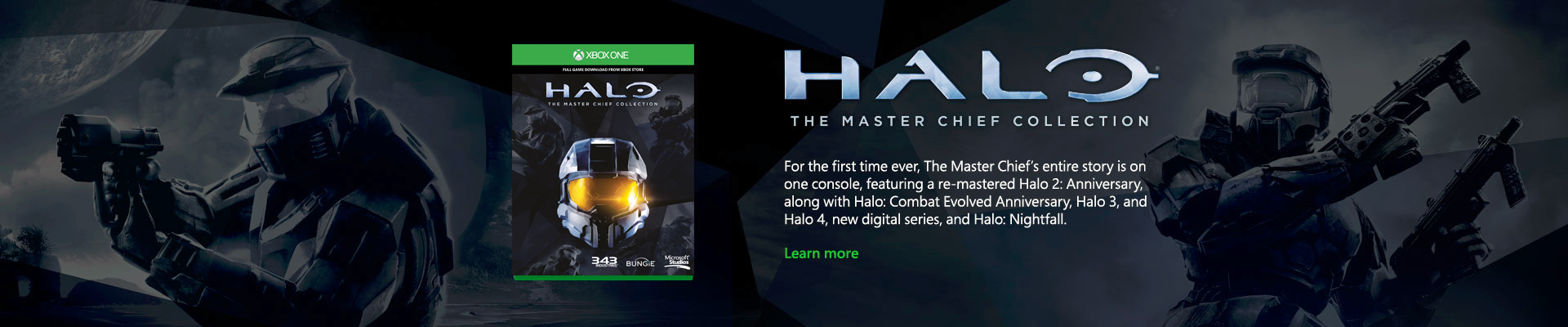 Xbox One Halo Master Chief Collection banner