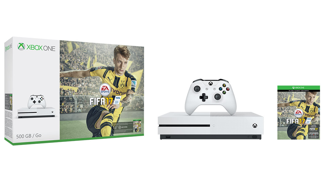 Xbox 360 Slim Vs Xbox 360 Elite Xbox One S FIFA 17 Bun...