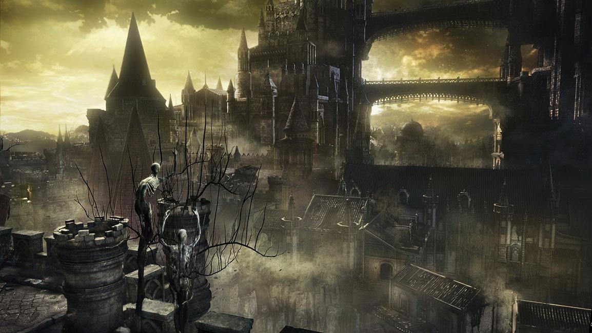 Dark Souls III, château de Lothric
