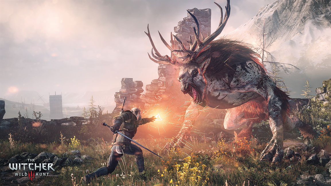 Combate en The Witcher 3: Wild Hunt