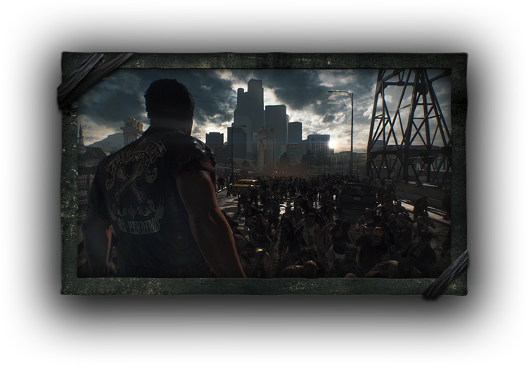 Dead Rising 3 zombie attack screenshot