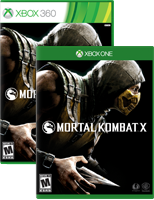 Mortal Kombat X box shot