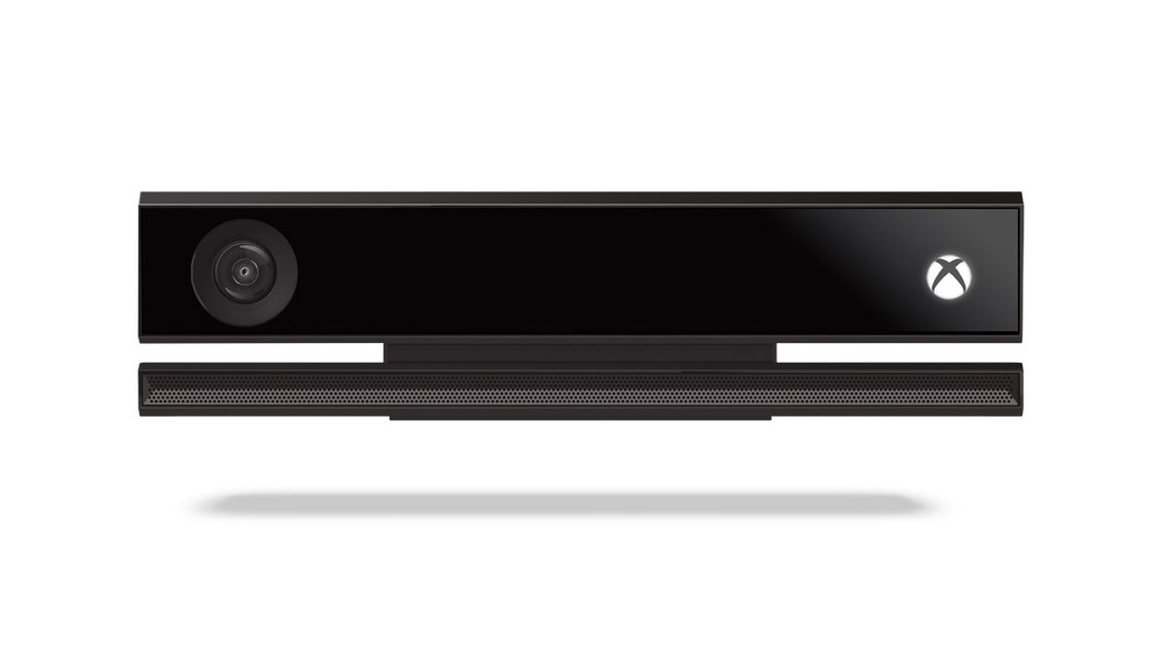 Front view of Xbox Kinect