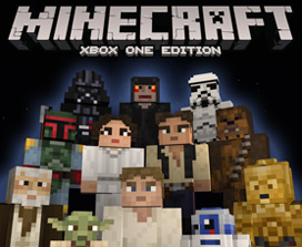 Paquete de aspecto Minecraft Star Wars Classic