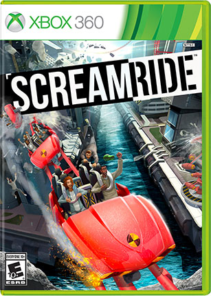 Screamride Xbox 360 box shot