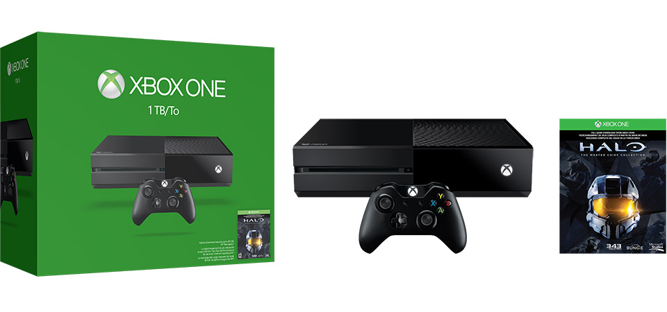 Xbox One 1TB Halo The Master Chief Collection Bundle banner