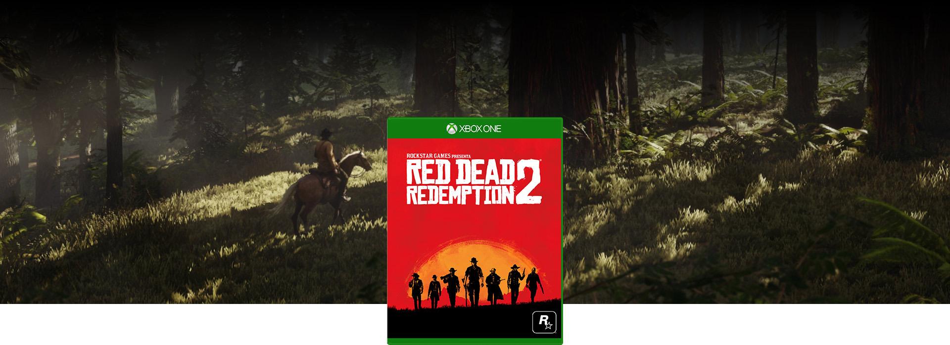 Imagen de la caja de Red Dead Redemption 2
