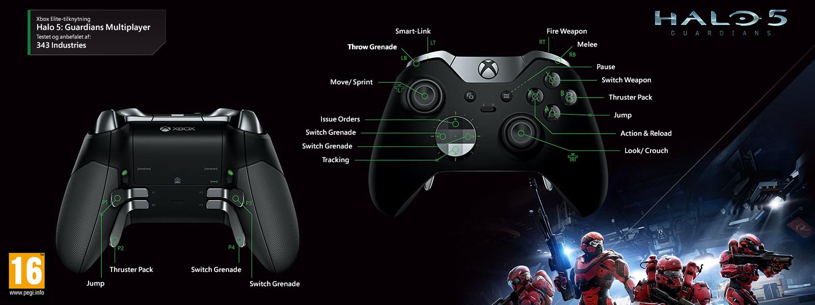 Halo 5 – Elite-konfiguration til Guardians-multiplayer