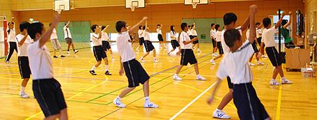 ダンス教育デモ授業