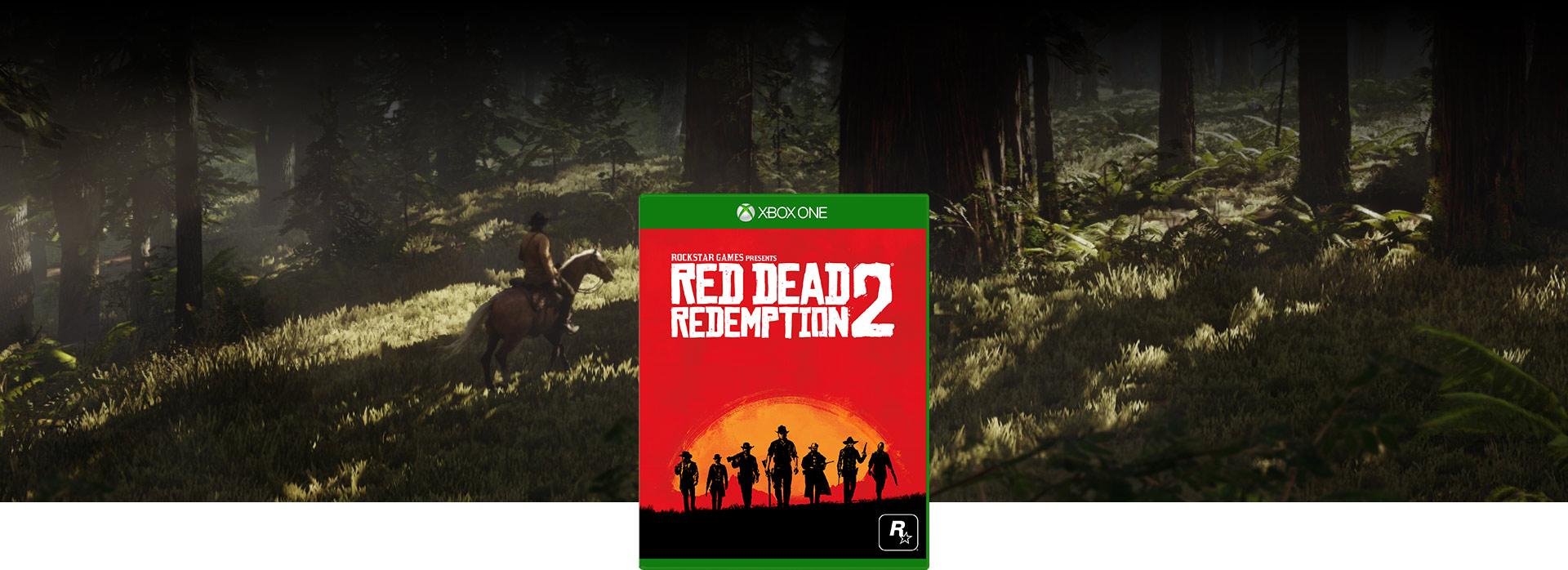 Red Dead Redemption 2 foto van de verpakking
