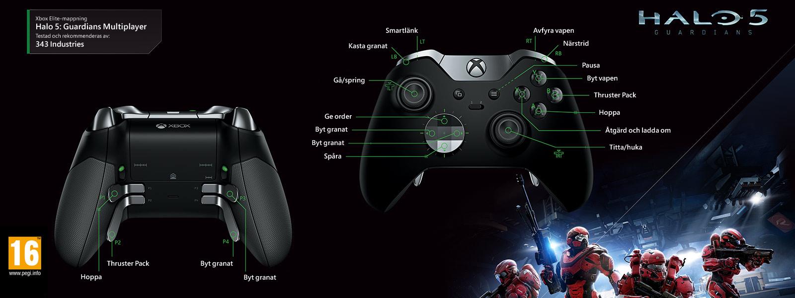 Halo 5: Guardians – Elite-mappning för multiplayer