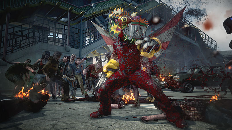 Dead Rising 3 Mecha Dragon screenshot