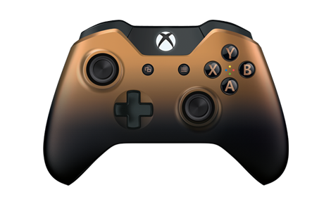 Manette sans fil Xbox One édition spéciale Copper Shadow
