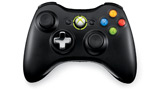 Xbox 360 Wireless Controller  top view