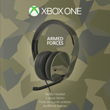 Xbox One Special Edition Armed Forces Stereo Headset box shot