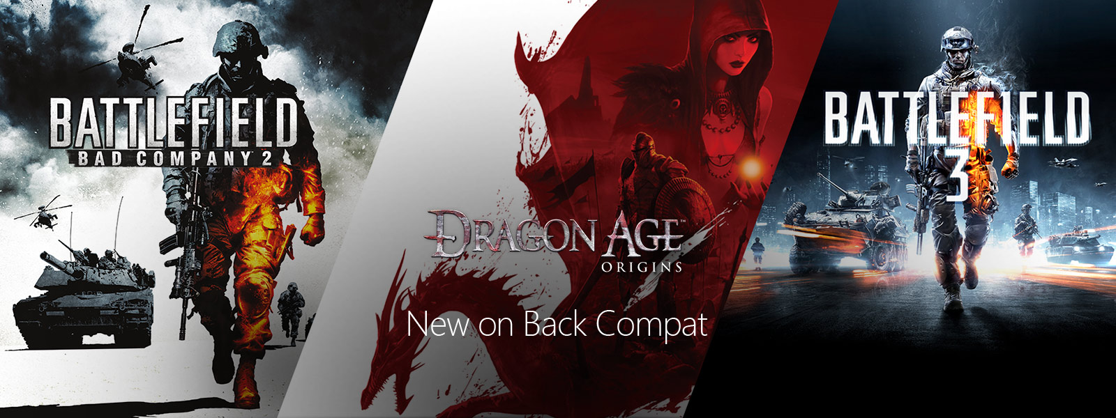 dragon age origins and battlefield 3 on Backward Compatibility