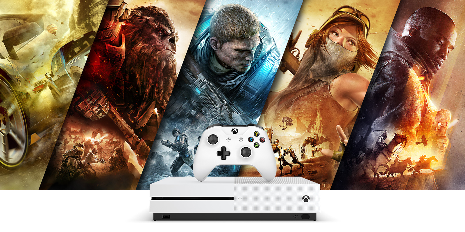 Xbox One S - Console-exclusives