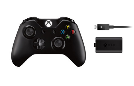 Xbox One Draadloze controller en Play & Charge-kit