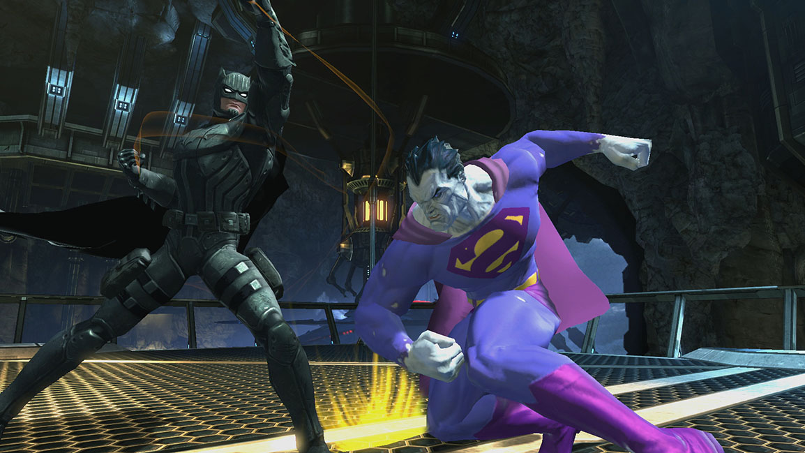 Future Batman vs. Bizarro