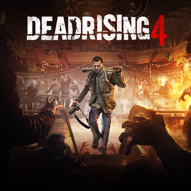 Illustration promotionnelle de Dead Rising 4 sur Xbox One