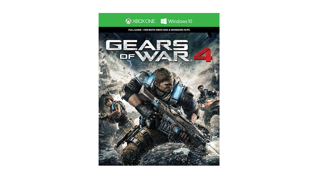 Gears of War 4 Boxshot