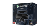 Xbox One with Kinect Halo: The Master Chief Collection Bundle angled box shot