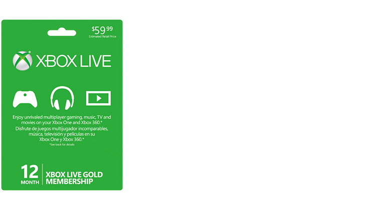 how to get 1 month xbox live