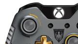 Call of Duty: Advanced Warfare Bundle wireless controller thumb sticks close up