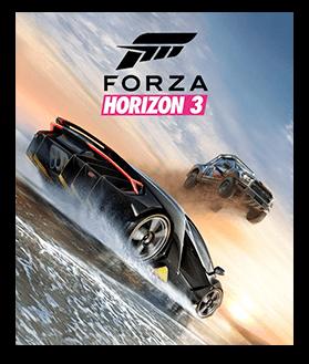 Forza Horizon 3 已装箱