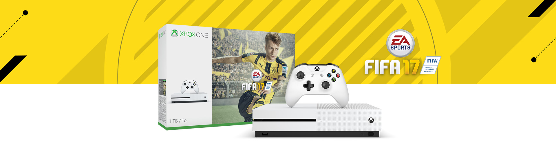 xbox one s fifa 17 bundle 1tb xbox. Black Bedroom Furniture Sets. Home Design Ideas