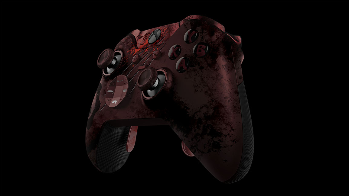 Controller front angled