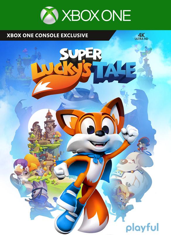 Super Lucky's Tale boxshot
