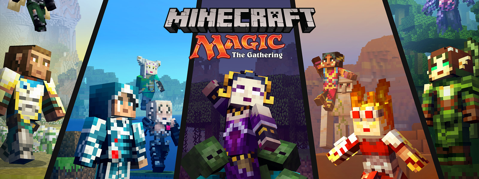 Paquete de aspecto Minecraft Magic: The Gathering