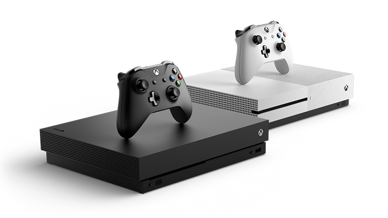 Xbox One X and Xbox One S family image