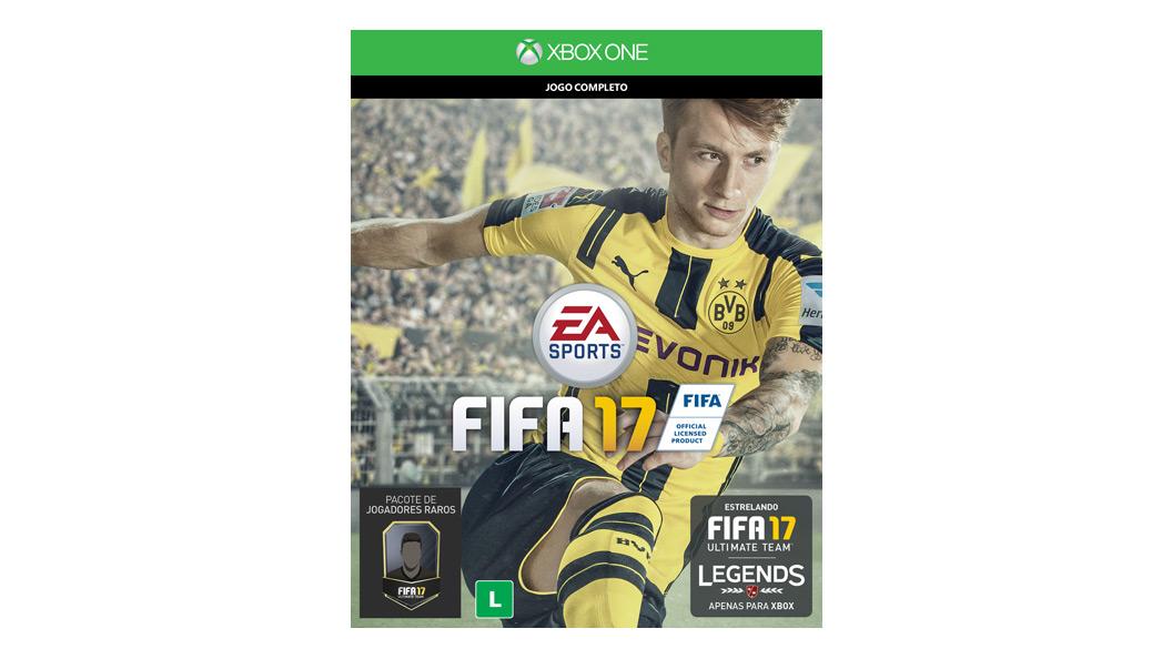 Cartão de jogo FIFA 17
